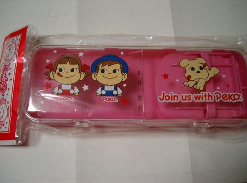 ペコちゃん筆箱ピンク